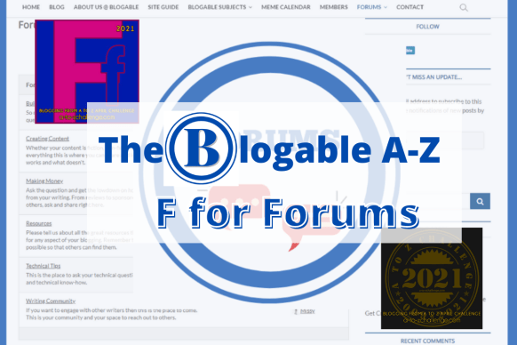 F for forums
