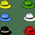 six hats characters