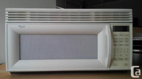 Not the actual microwave, but an example of yellowing.
