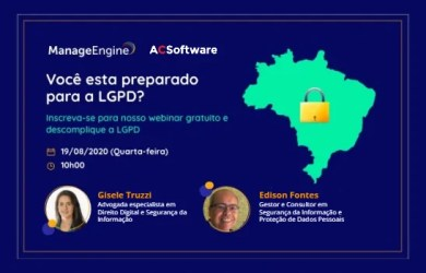 LGPD ManageEngine