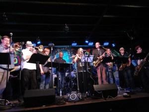 Big Band pour les 100 ans de Sun Râ au « Blue Nile » 1