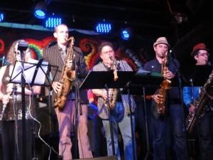 Big Band pour les 100 ans de Sun Râ au « Blue Nile » 3
