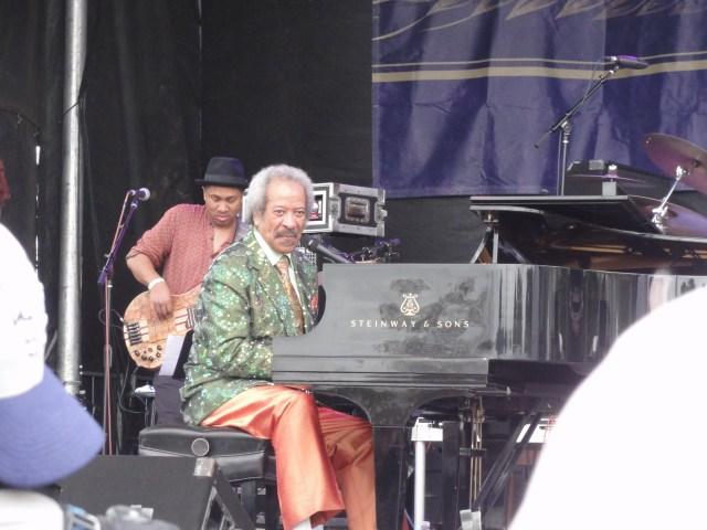 Allen Toussaint et Roland Guerin