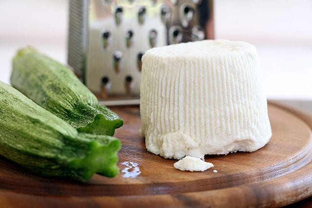 ricotta salata, a great cheese of Italy
