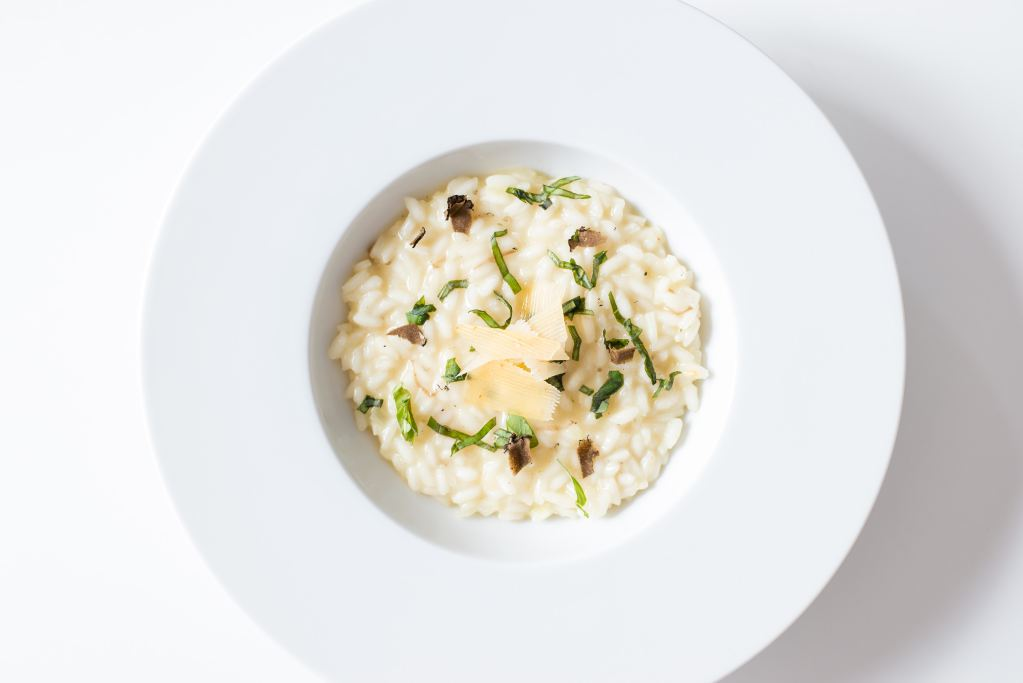Creamy, authentic Italian risotto