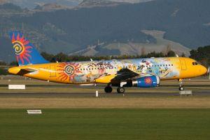 Cómo pintar un avión para llamar la atención