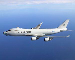 Boeing YAL-1, un B-747 anti-misiles