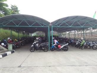 parkir motor (dok.ferry)