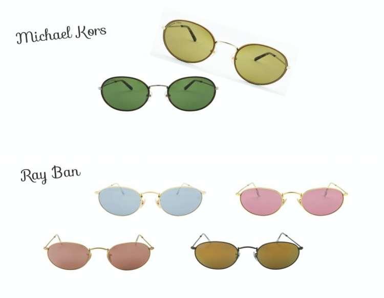 Oculos de sol Michael Kors e Ray Ban