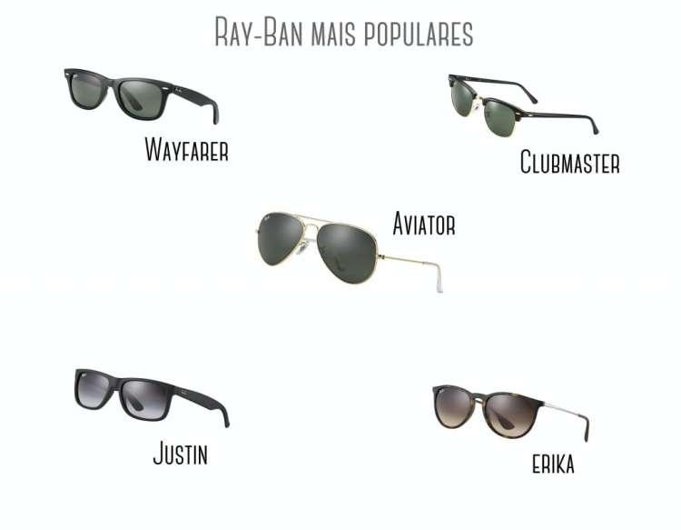 Oculos Ray-Ban Populares