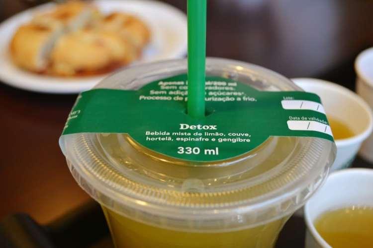Starbucks Brasil Suco Verde Detox