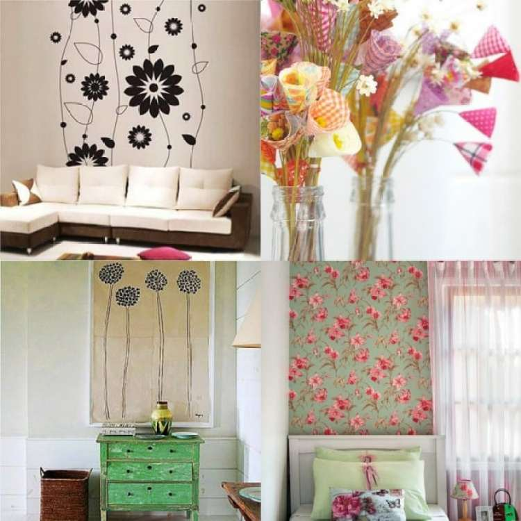 Decoracao com Flores