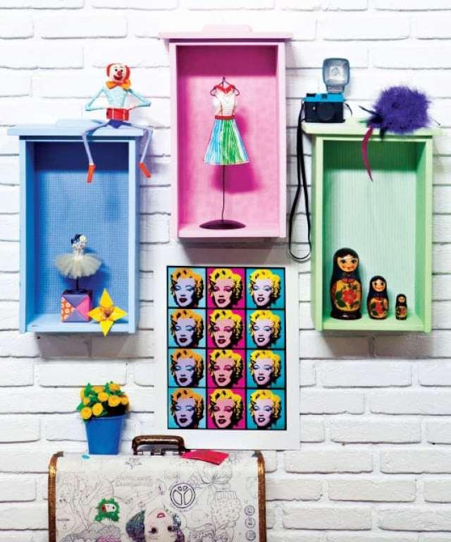 gavetas_coloridas na parede