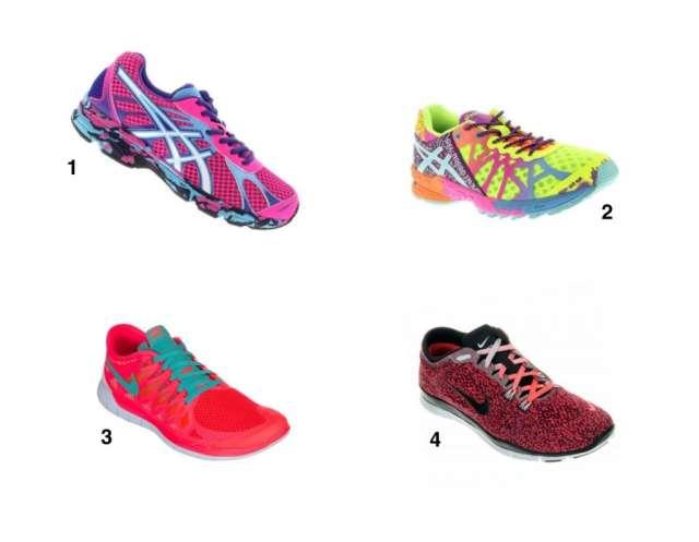 Tenis Asics e Nike Preco