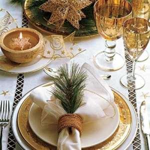 O que usar na decoração da mesa de jantar no Natal?