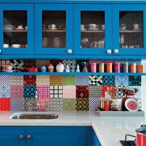 Decore sua casa com azulejos coloridos