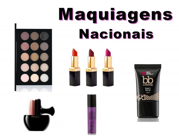 Maquiagens Nacionais