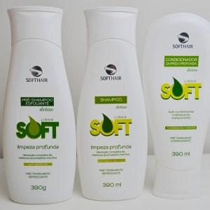 Linha SoftHair Detox Limpeza Profunda