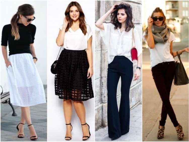 a melhor escolha_look preto e branco
