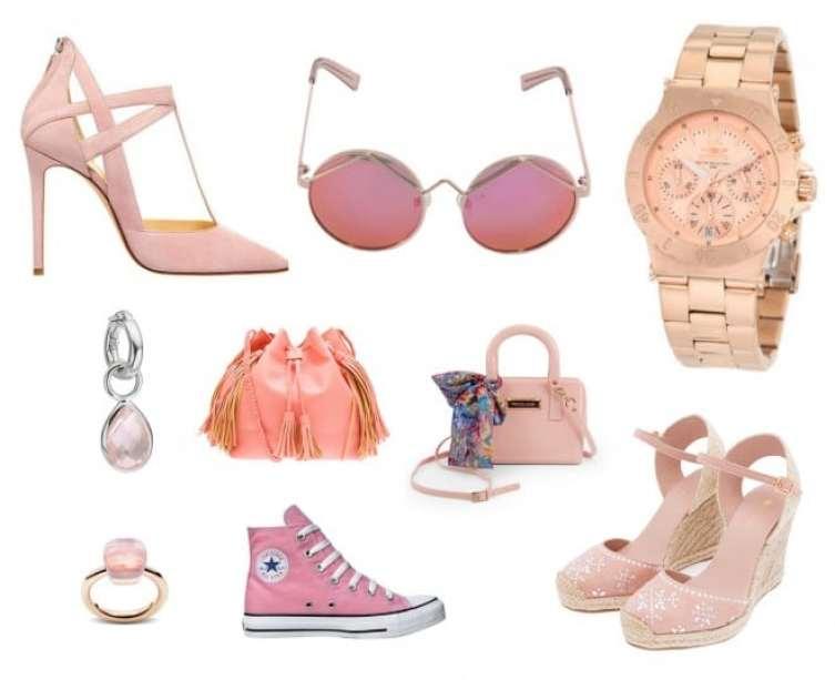 a melhor escolha_sapato tenis e acessorios rose quartz