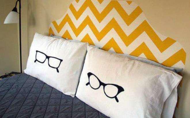 dicas de fronhas divertidas para decorar a cama