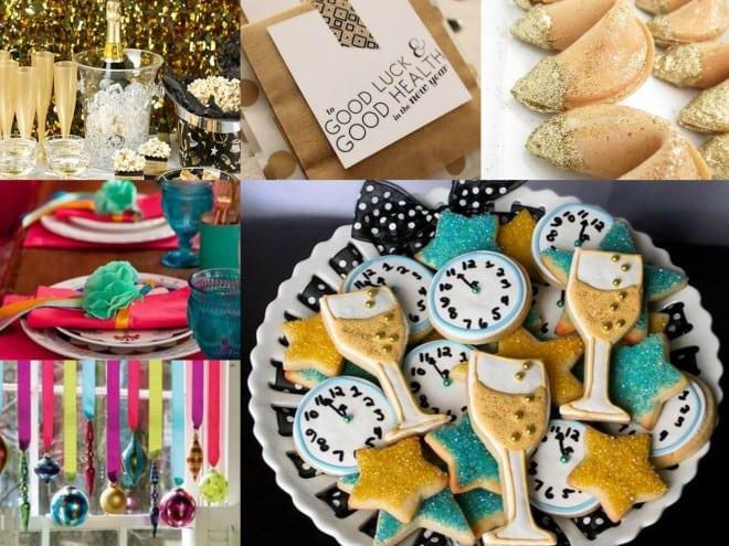 post com dicas de decoracao para festa ou jantar de ano novo