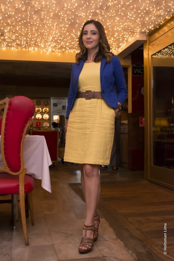 post look combinacao de cores para almoco da equipe fashion meeting no bistro ruella em sao paulo