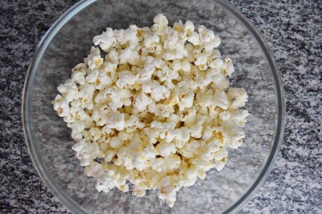 post sobre a receita de pipoca saudavel sem oleo no micro ondas