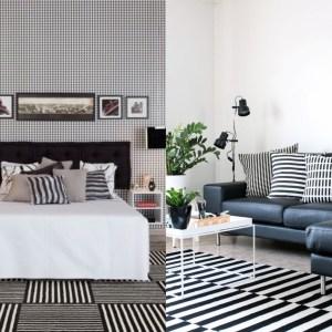Inspiração: Decoração Preto & Branco