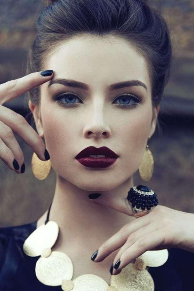 Tons de maquiagens para o inverno