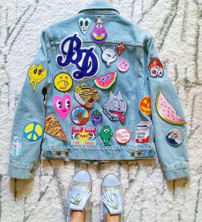 customizacao de roupas e acessorios com patches
