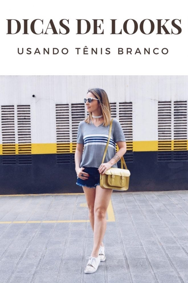 Dicas e inspiração de looks de Fê Gonçalves usando tênis branco