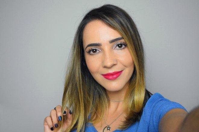 Vídeos de moda e beleza no canal do You Tube de Fê Gonçalves