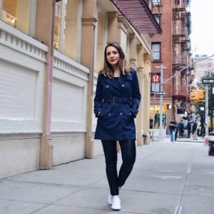 Meu look de outono em New York usando Trench Coat