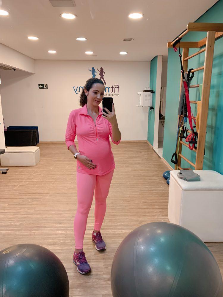 Programa de exercícios físicos individualizados para gestantes