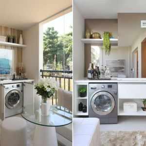 Saiba o que não pode faltar na decoração de uma lavanderia completa e todas as vantagens das máquinas lava e seca