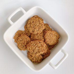 Receita: Cookies de Aveia
