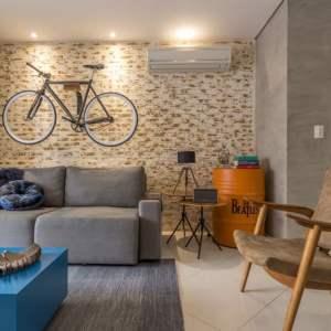Sofá retrátil: solução bonita e criativa para sua sala