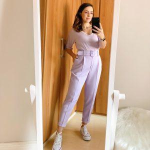 Como usar calça alfaiataria com tênis