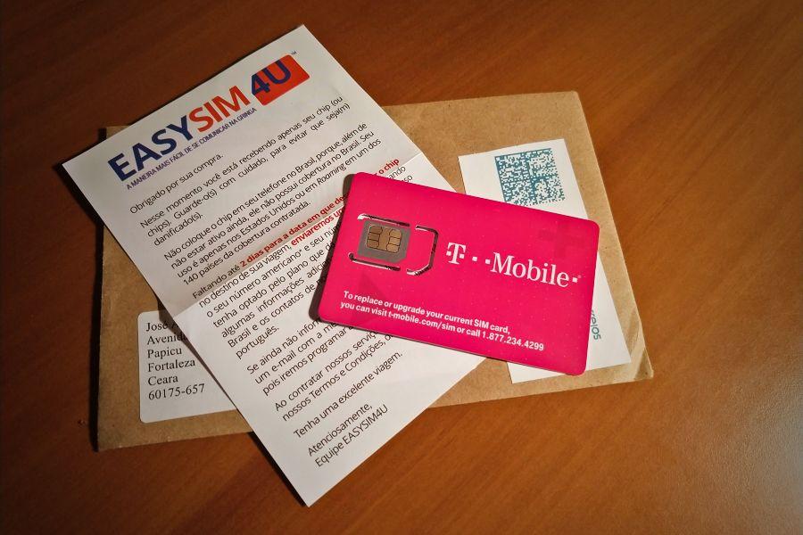 Chip EasySim4U amplia cobertura para 210 países e tem novos planos