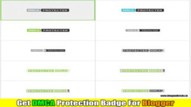 How-to-add-DMCA-protection-badge-for-blogger-free