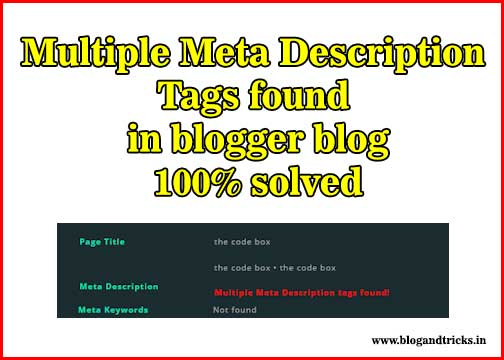 Multiple-Meta-Tags-Description
