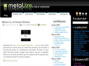 Theme para WordPress