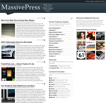 massivepress theme