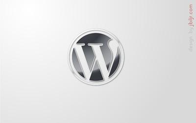 WordPress plateado