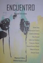Recueil Encuentro (2014). Couverture de Déborah Vincent