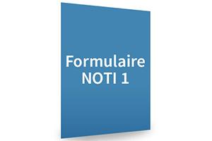 Formulaire NOTI1