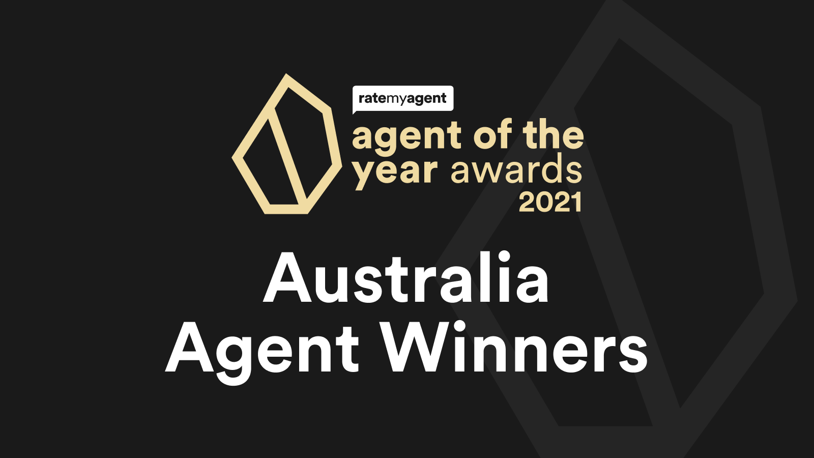 2021 Agent of the Year Winners – National awards