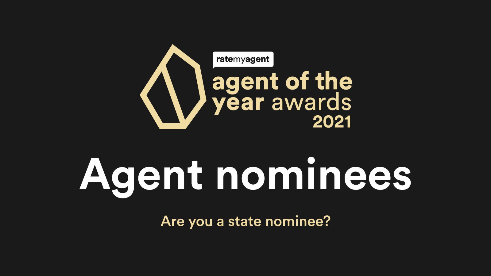 2021 Agent of the Year Nominees announced