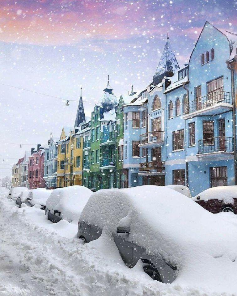 Kar Yagisi Sonrasi Medyana Gelen Ilginc Resimler 7